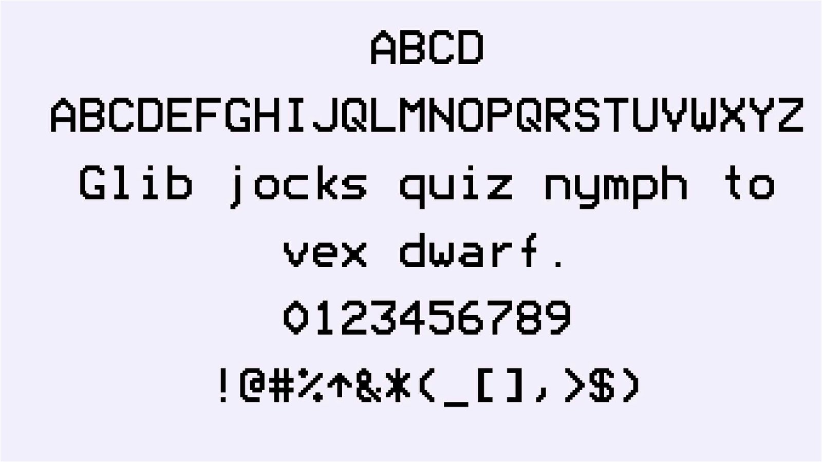 Modeseven Font View