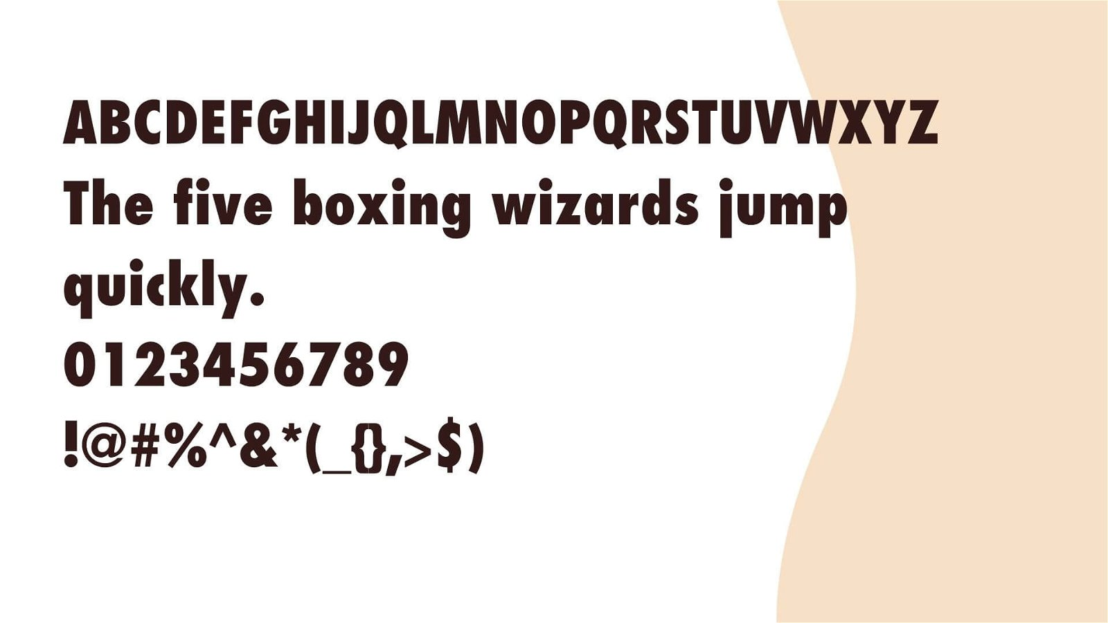 Nike Font View