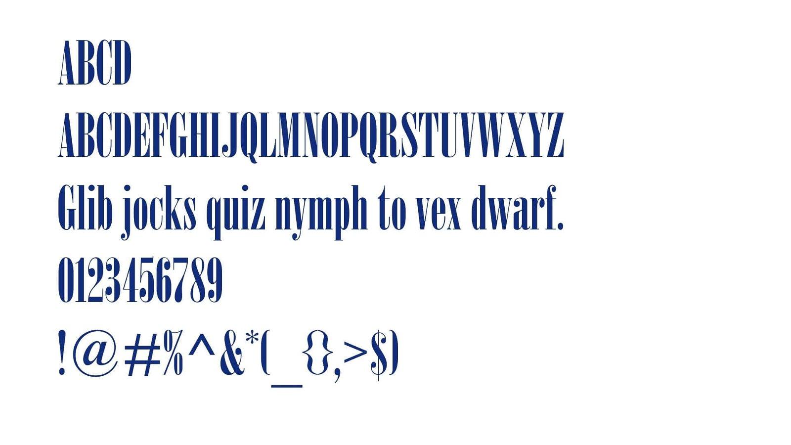 Nirvana Font View