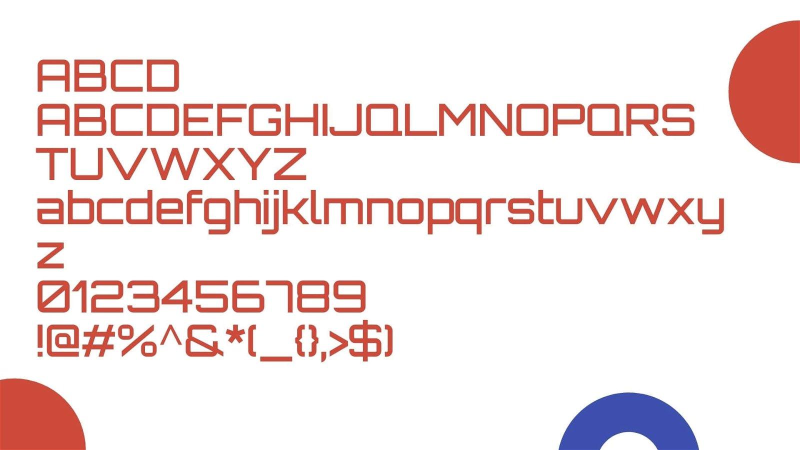 Orbitron Font View