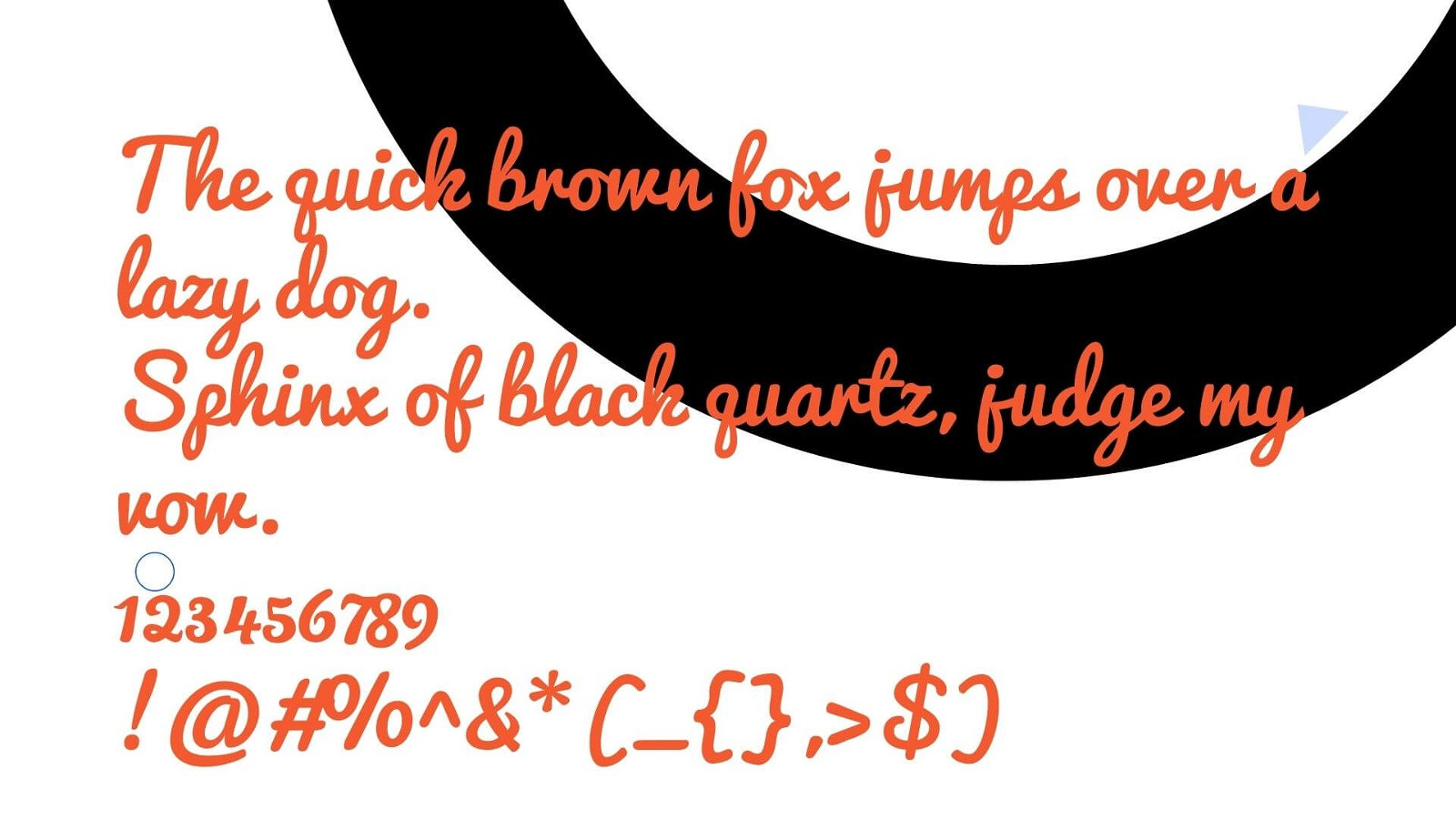 Pacifico Font View - Pacifico Font Free Download