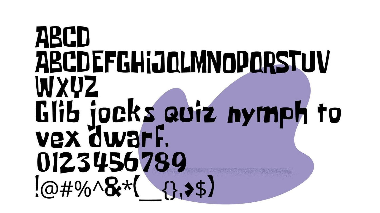 Spongbob Font View