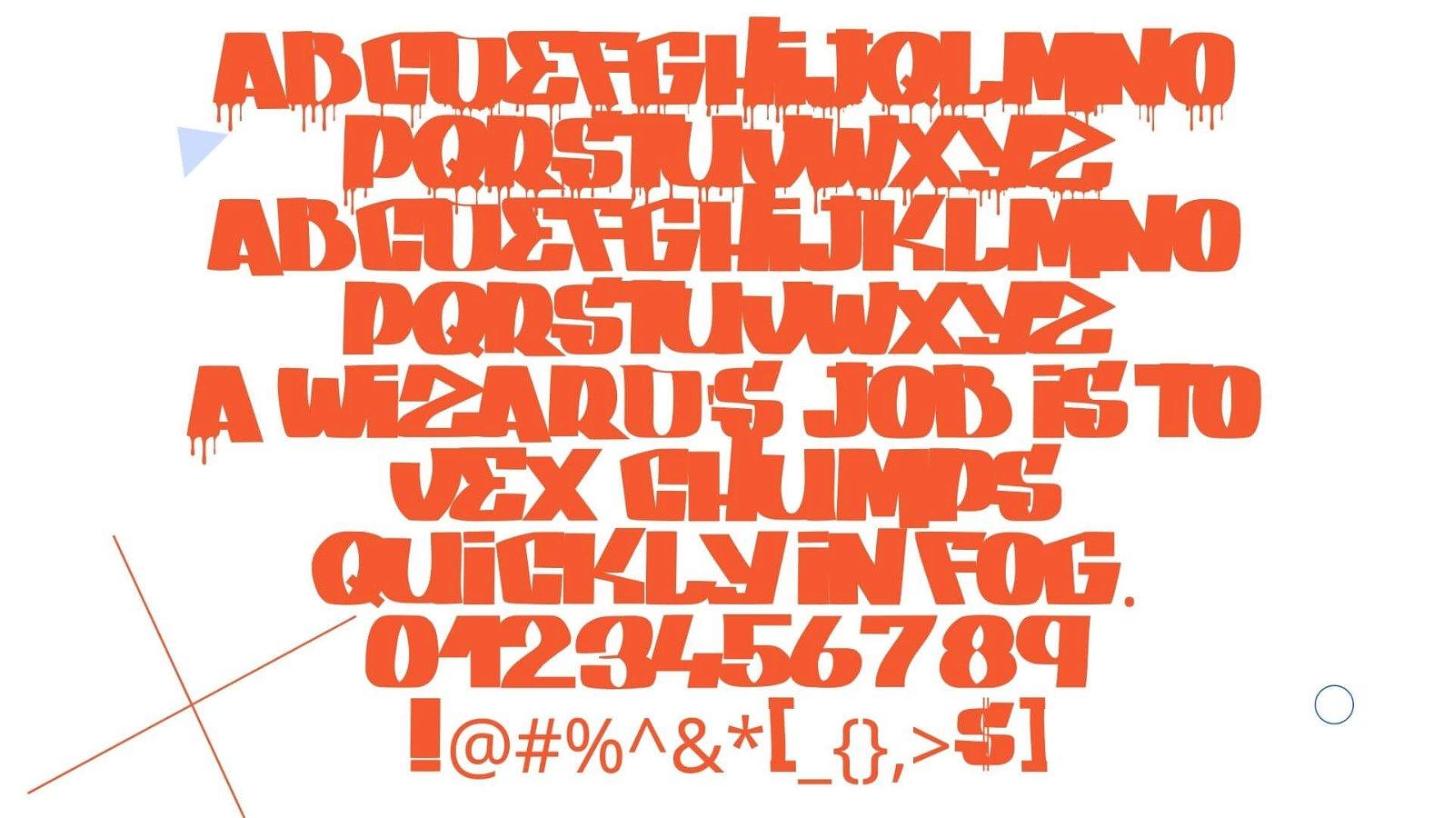 Spray Font View
