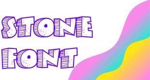 Stone Font 310x165 - Stone Font Free Download