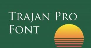 Trajon Pro Font