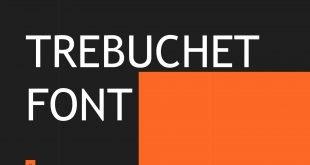 Trebuchet Font