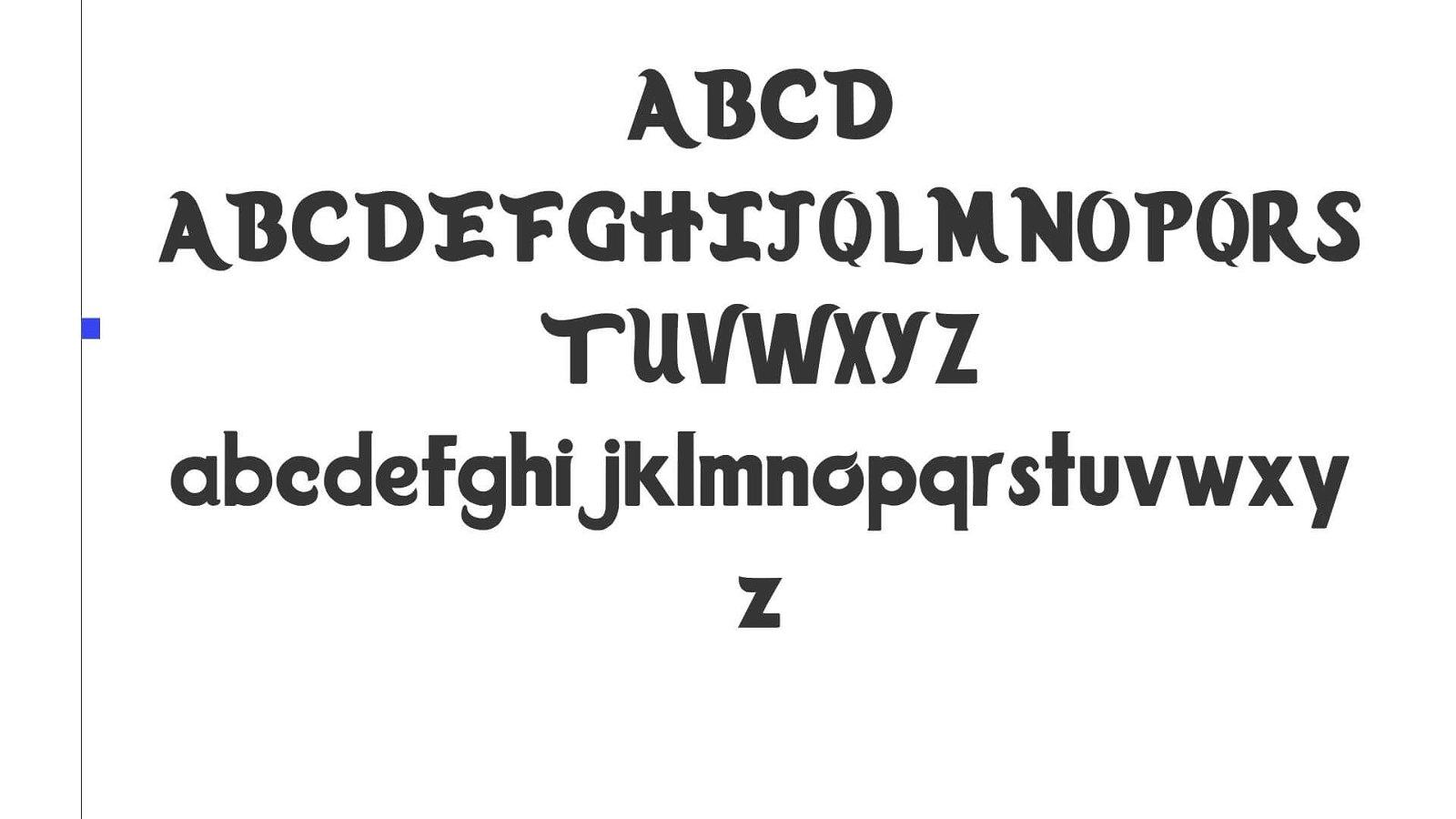 Trolls Movie Font View - Trolls Font Free Download