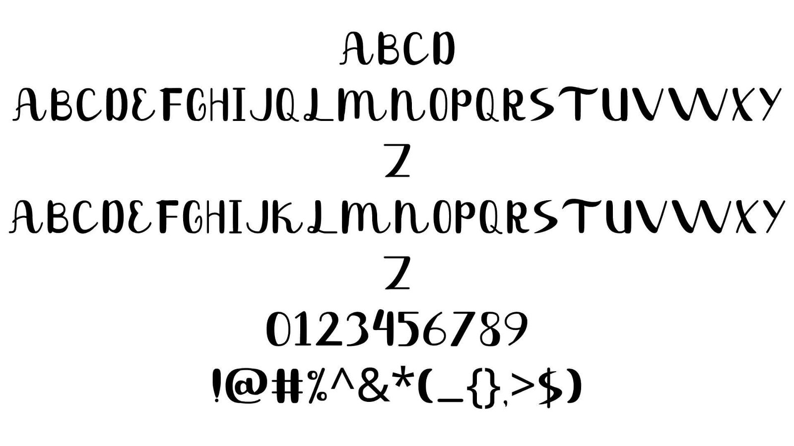 Tropical Font View - Tropical Font Free Download