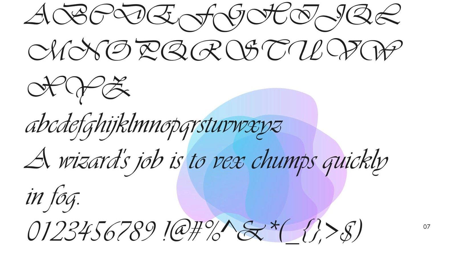 Vivaldi Font View - Vivaldi Font Free Download