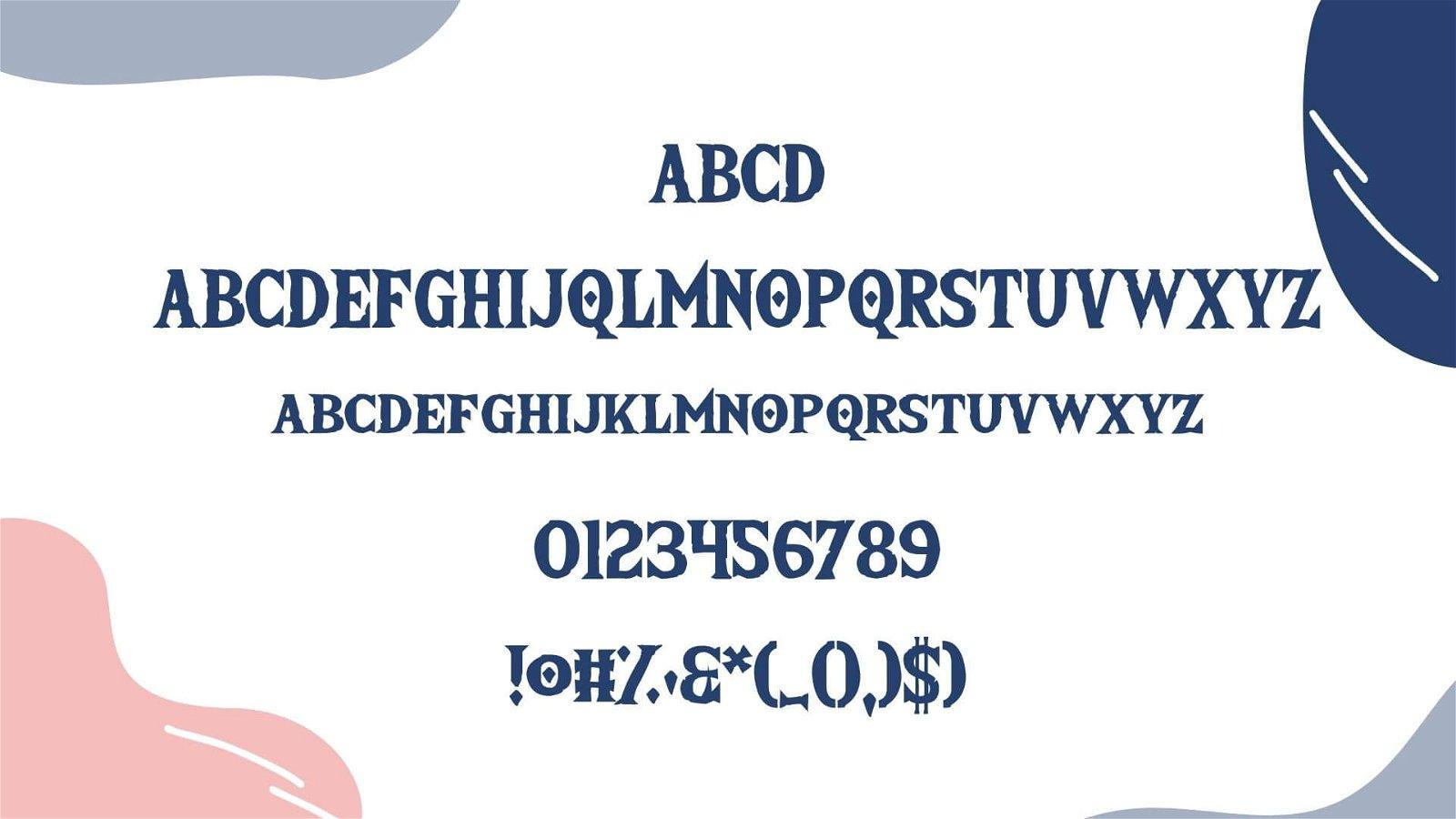 Zelda Font View
