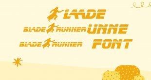 Blade Runner Font