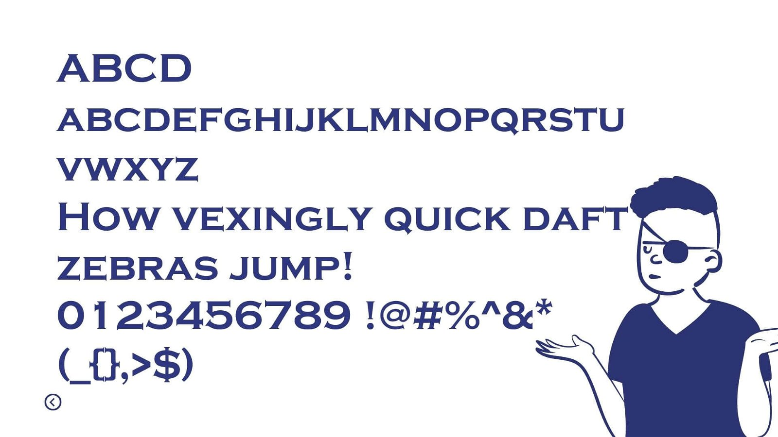 Copperplate Gothic Font View