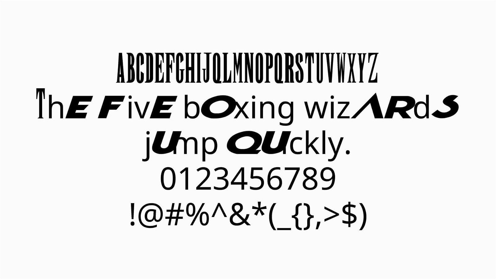 Final Fantasy Font View