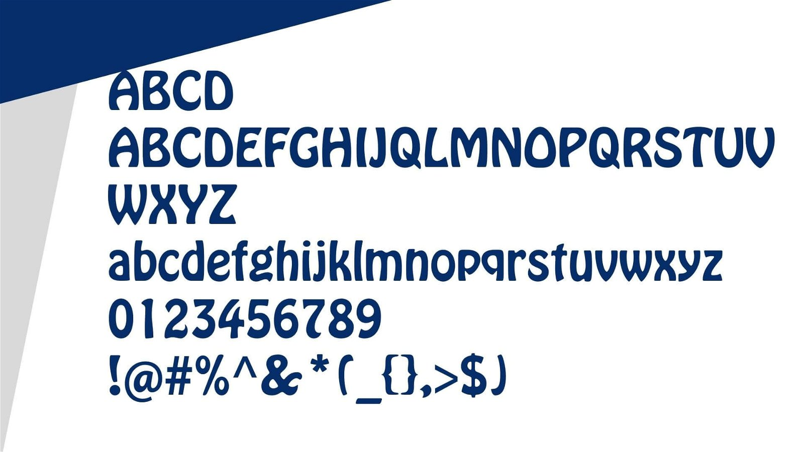 Hobo Font View
