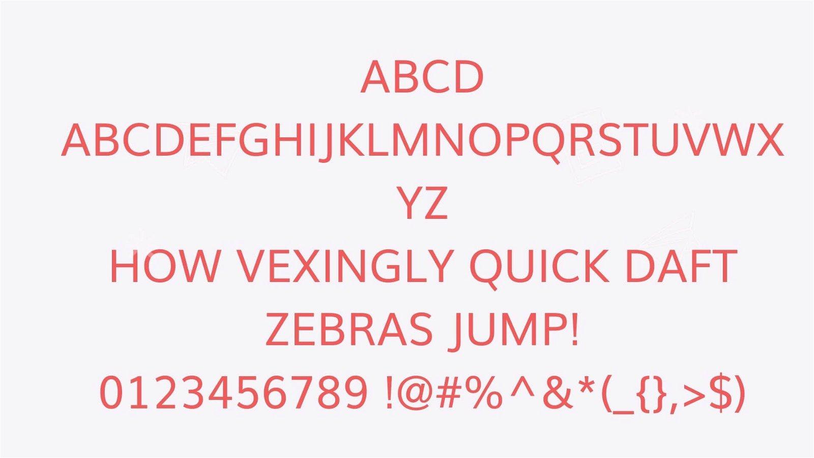 Muli Font View - Muli Font Free Download