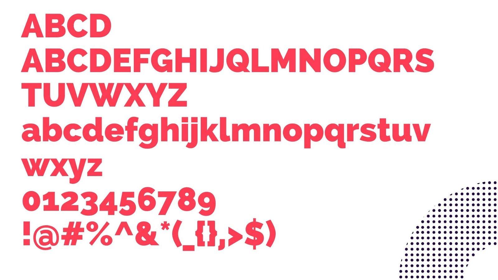 Raleway Font View - Raleway Font Family Free Download