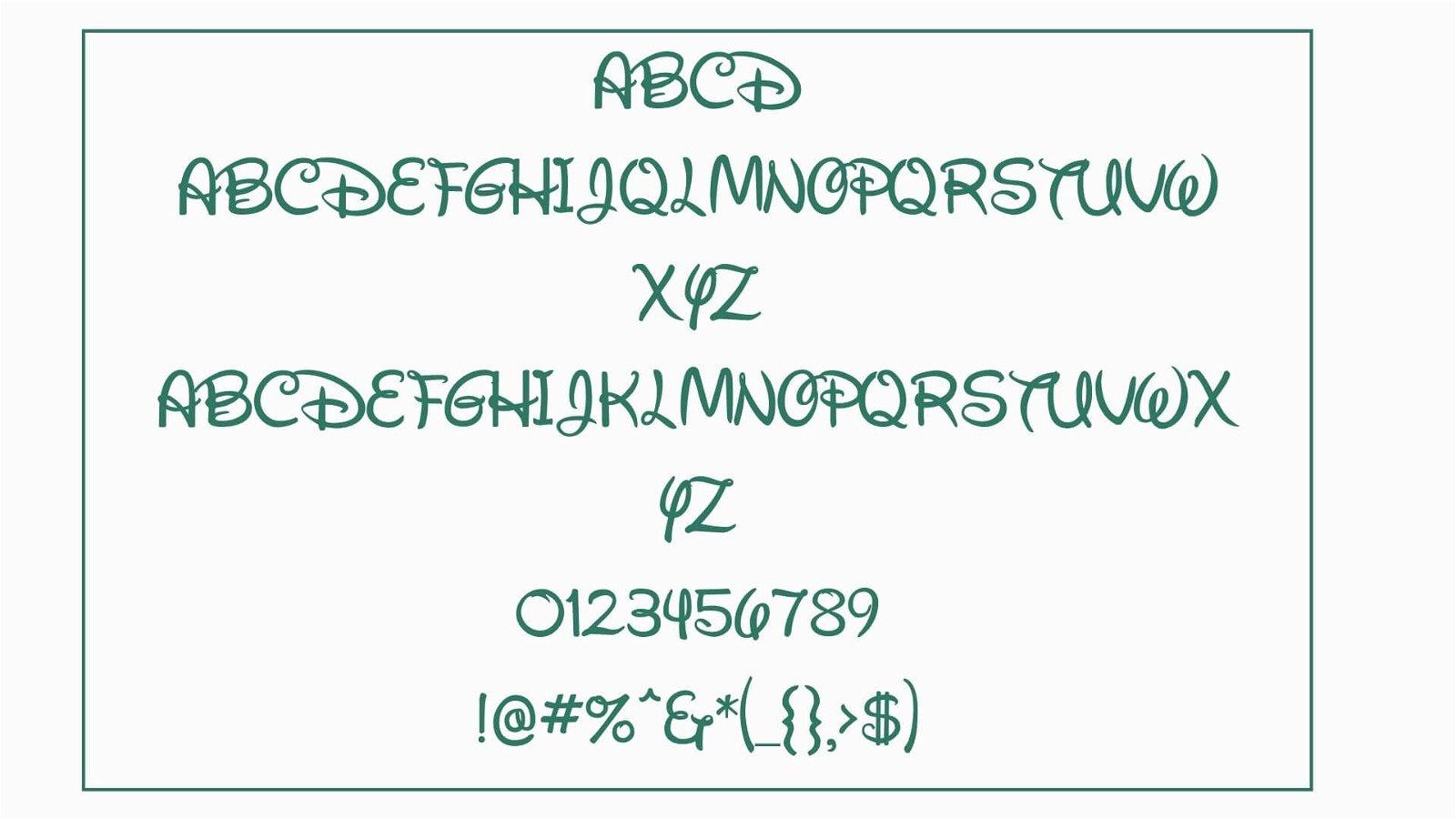 Waltograph Font View - Waltograph Font Free Download