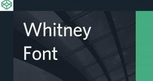 Whitney Font