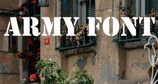 ARMY FONT 310x165 - Army Font Free Download