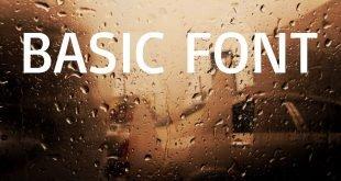 BASIC FONT 310x165 - Basic Font Free Download