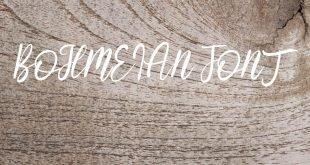 BOHEMIAN FONT 310x165 - Bohemian Font Free Download