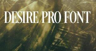 DESIRE PRO FONT 310x165 - Desire Pro Font Free Download