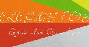 ELEGANT FONT 310x165 - Elegant Font Free Download