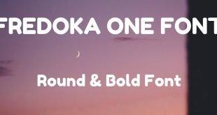 FREDOKA ONE FONT 310x165 - Fredoka One Font Free Download