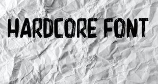 HARDCORE FONT 310x165 - Hardcore Font Free Download