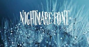 NIGHTMARE FONT 310x165 - Nightmare Font Free Download