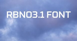 RBNO3.1 FONT 310x165 - RBNO3 Font Free Download