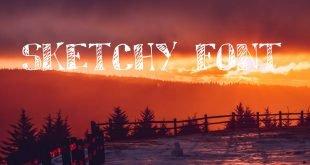 SKETCHY FONT 310x165 - Sketchy Font Free Download