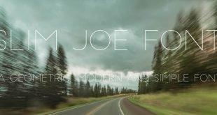 SLIM JOE FONT 310x165 - Slim Joe Font Free Download