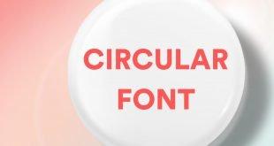 CIRCULAR FONT FEATURE 310x165 - Circular Font Free Download